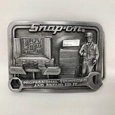 Snap On Tools Professional Technician & Proud of It Buckle Mechanic Garage Work