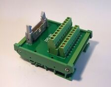 IDC-20 Male Header Breakout Board Screw Terminal Adaptor DIN rail mounting
