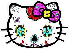 #0 Hello Kitty Sugar Skull Sticker Decal