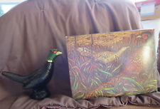 Vintage AVON Pheasant Decanter with Olan After Shave   (Box 2)
