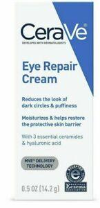 CeraVe Eye Repair Cream Dark Circles & Puffiness  0.5 oz