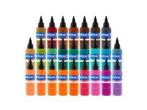 Intenze 25 Color Tattoo Ink Set