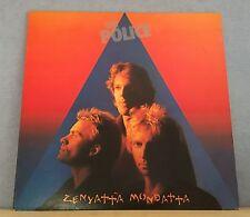 THE POLICE Zenyatta Mondatta 1980 UK vinyl  LP + INNER EXCELLENT CONDITION    W