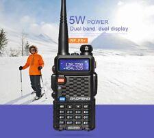 1x Baofeng Ham Walkie Talkie F8+ UHF/VHF 5W 128 canaux VOX DCS radio de poche
