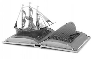 Metal Earth Moby Dick Book Sculpture modellsatz