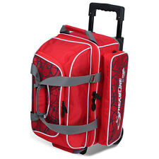 Storm 2 Ball Streamline Roller Bowling Bag with Wheels Color Red Crackle/Red NEW