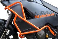 Defensa protector de motor Heed KTM 990 Adventure (06-12) - naranja + Bolsas