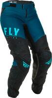 Fly Racing Womens Navy/Blue/Black Lite Dirt Bike Pants MX ATV 2020