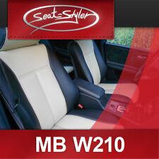 Mercedes E-Klasse W210 ECHTLEDER Sitzbezüge Lederausstattung Ledersitze Sattler