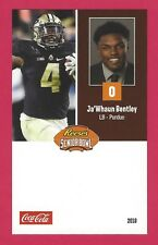 JA'WHAUN BENTLEY 2018 REESE'S SENIOR BOWL PURDUE BOILERMAKERS ROOKIE CARD