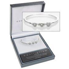 Versilberte Modeschmuck-Armbänder mit Perlen (Imitation)