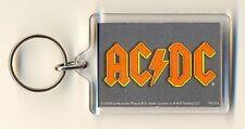 AC/DC Logo Acrylic Keyring Official