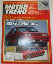 Motor Trend Magazine 302 GT Mustang & Alfa GTV V-6 September 1981 022715r