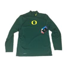 ad9abc9f1e55 Oregon Ducks Nike Dri-fit Pro Combat Hyperwarm Large Long Sleeve Shirt