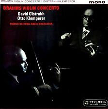 Brahms-Violin Concerto-Oïstrakh-Klemperer LP 1961 Australia MONO 33OCX 1765