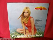 CINEMA FESTIVAL PHASE 6 Library LP 1970 ITALY Top Sexy Cover OSTs 007 Z Barry