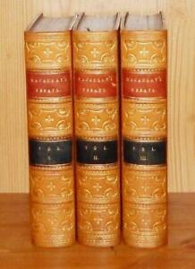 1860 Macaulay CRITICAL & HISTORICAL ESSAYS Contributed to Edinburgh Review