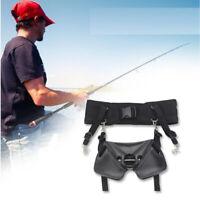 Big Game Fishing Fighting Belt Waist Gimbal Stand Up Rod Holder Saltwater Boat