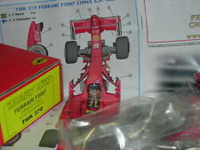 Tameo Kits 1:43 KIT TMK 370 Ferrai F2007 F.1 GP Cina 2007 Winner Raikkonen NEW