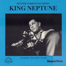 DEXTER GORDON QUARTET - KING NEPTUNE (1990 JAZZ CD REISSUE DENMARK)