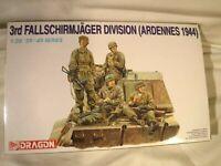 1/35 Dragon 4 German 3rd Fallschirmjager Paratroopers Div Ardennes 1944 # 6113