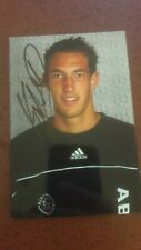 Maarten Stekelenburg (Ajax, Fulham, AS Roma) photo with original autograph