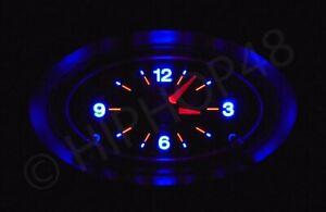 Ford BA BF XR Dash Clock - BLUE LED Illuminated