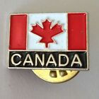Canada Flag Lapel Small Pin Badge Vintage Original (N9)