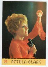 figurina CANTANTI PANINI 1968 REC numero 51 PETULA CLARK