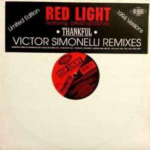 "Red Light Featuring David Gordon - Thankful 12"" Ltd Vinyl Schallplatte 193489"