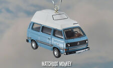 1:76 Volkswagen T25 Bus Camper Westy VW Type 2 Christmas Ornament Westfalia RV