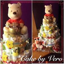 Custom Made Winnie the Pooh ( 3 TIER) for Baby Shower Boy or Girl