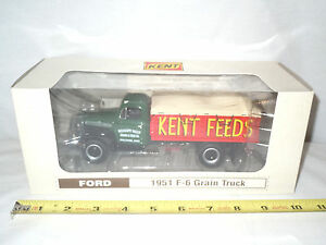 Kent Feeds 1951 Ford F-6 Grain Truck  By First Gear 1/34th Scale  !