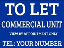 Commercial Unit To Let Sign Boards x2