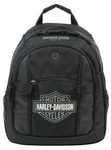Harley-Davidson® Bar & Shield Day Pack Backpack Black & Gray BP1968S-GRYBLK