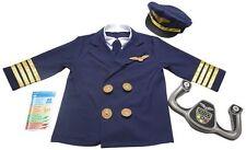 Childrens Pilot Fancy Dress Costume for Kids Boys & Girls Melissa & Doug Dress U