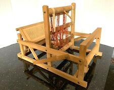 New ListingWeaving Loom Brio? Table top Wooden Traditional Fiber Arts Waldorf Crafts Vintge