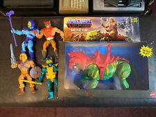MOTU Origins Lot - Masters Of The Universe He-Man Battle Cat Skeletor 2020 Zodac