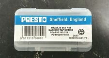 Presto HSS M12x1.75 Tap Set Metric Coarse Set of 3