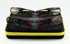4x 3D Brille Hi-SHOCK Scarlet Heaven für Sony VPL VW320 760ES 550ES 360ES 500ES