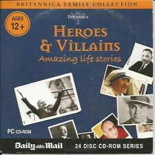 BRITANNICA - HEROES & VILLAINS - DAILY MAIL PROMO PC CD