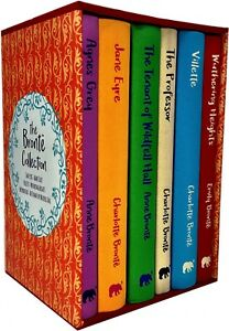 Bronte Deluxe Hardback Collection 6 Books Collection Box Set Pack Agnes Grey