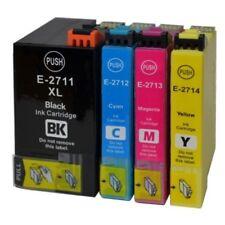Pack 4 Cartouches d encre Compatible EPSON T2715 xl pour workforce