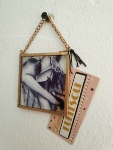 Burlesque style wall hanging