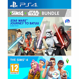 The Sims 4 + Star Wars Journey to Batuu PS4 PLAYSTATION New and Sealed