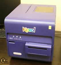 New Listingquicklabel Kiaro Fast Inkjet Color Label Printer With Label Rewinder Amp Unwinder