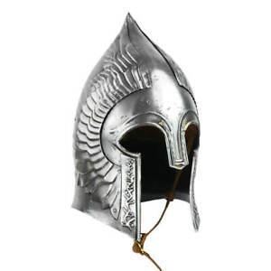 Lort Of the Ring Movie Helmet Steel Medieval Elven Helmet Viking Armor Helmet