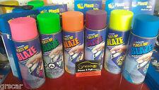 Vernice spray pellicola PLASTI DIP Blaze Giallo Arancio Rosa Verde Blu plastidip