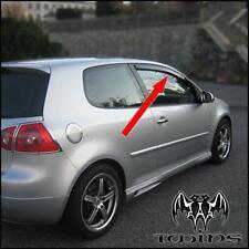 Déflecteurs de vent pluie air teintées VW Golf V 2003-2009 3 portes 3p mk 5