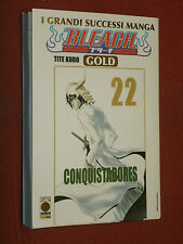 BLEACH GOLD -N°22-  DI:TITE KUBO -esaurito- MANGA PANINI COMICS